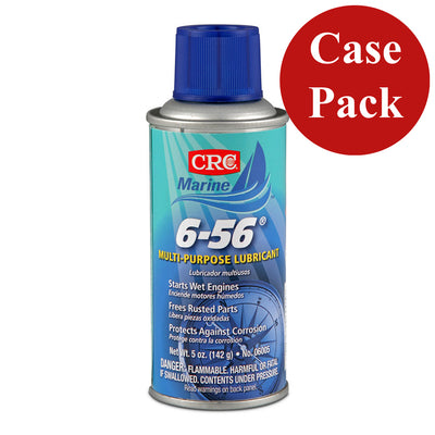 CRC Marine 6-56® Multi-Purpose Marine Lubricant - 5oz - #06005 *Case of 12