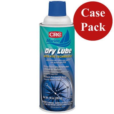CRC Marine Dry Lube w-PTFE Technology - 10oz - #06114 *Case of 12