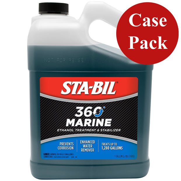 STA-BIL 360® Marine™ - 1 Gallon *Case of 4*