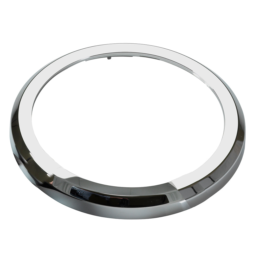VDO Marine 110mm ViewLine Bezel - Flat - Chrome