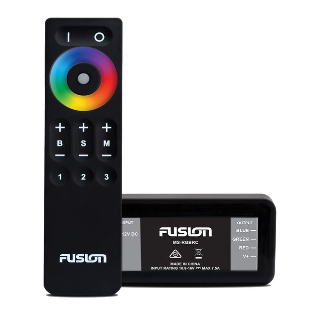 Fusion MS-CRGBWRC LED Lighting Control Module-Remote f-Signature Series 3