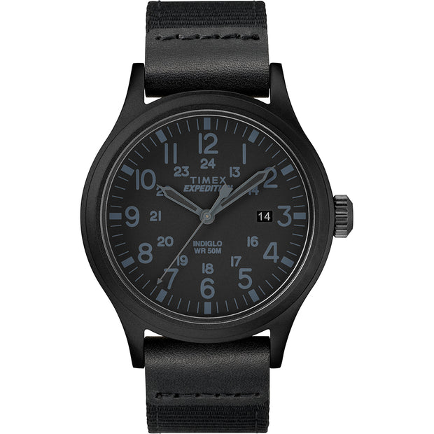Timex Expedition® Scout 40mm - Black - Fabric Strap Watch
