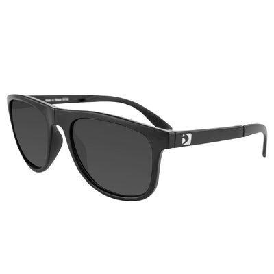 Bobster Hex Folding Sunglasses Matte Blk Frame-Smoked Lens