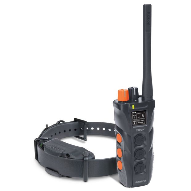 Dogtra 3500X Dual Dial Remote 1 Dog Training Collar