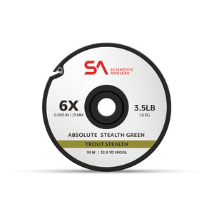 Scientific Anglers Absolute Trout Stealth Tippet 30M Grn