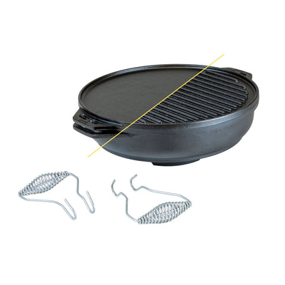 Lodge 14 Inch Cast Iron Cook-It-All