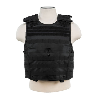 Vism Expert Plate Carrier Vest-Med-2XL-Black