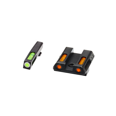 HIVIZ LiteWave H3 Sight Set Glock models 42 and 43