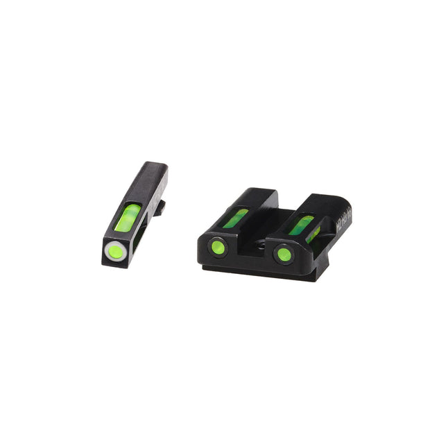 HIVIZ LiteWave H3 Sight Set Glock 45 ACP 10mm and 45 GAP