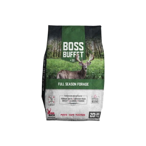 Boss Buck Boss Buffet Full Season Forage 20lb