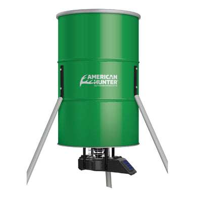 American Hunter 350lb Tripod Feeder w Updated Sunslinger Kit