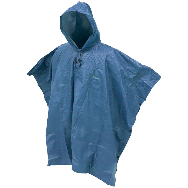 Frogg Toggs Ultra Lite 2 Poncho Blue One Size Fits All