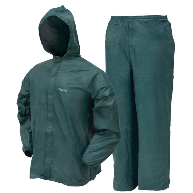 Frogg Toggs Mens Ultra Lite 2 Rainsuit Green