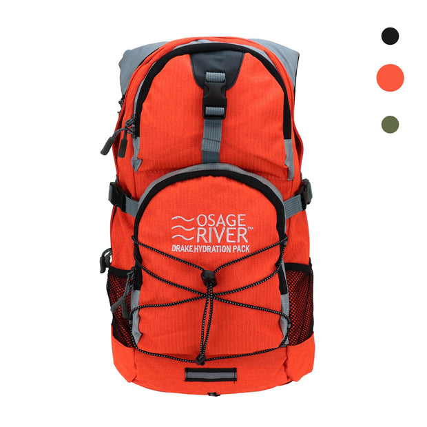 Osage River Drake Hydration Pack Gray