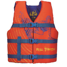 Load image into Gallery viewer, Full Throttle Youth Character Vest-Orange