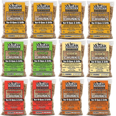 Smokehouse Assorted Wood Flavored 12 Pack