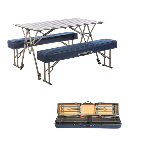 Kamp-Rite Kwik Set Table with Benches