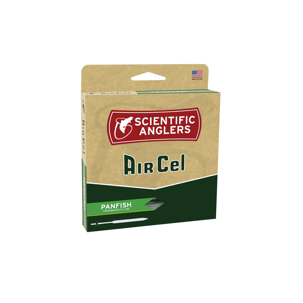 Scientific Anglers AirCel Floating Panfish Fly Line-5 6-Orng