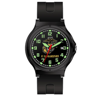 Aquaforce Analog Watch U.S. Marines Logo