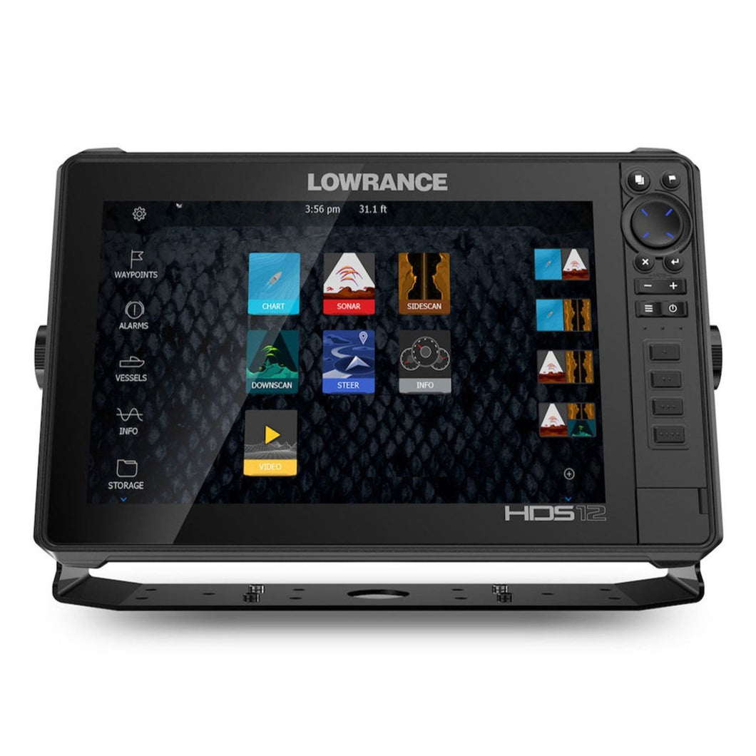 Lowrance HDS-12 Live C-MAP Insight Active Imaging 3-N-1