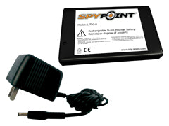 Spypoint Rechargable Lithium Battery W Ac Charger Lit-C-8