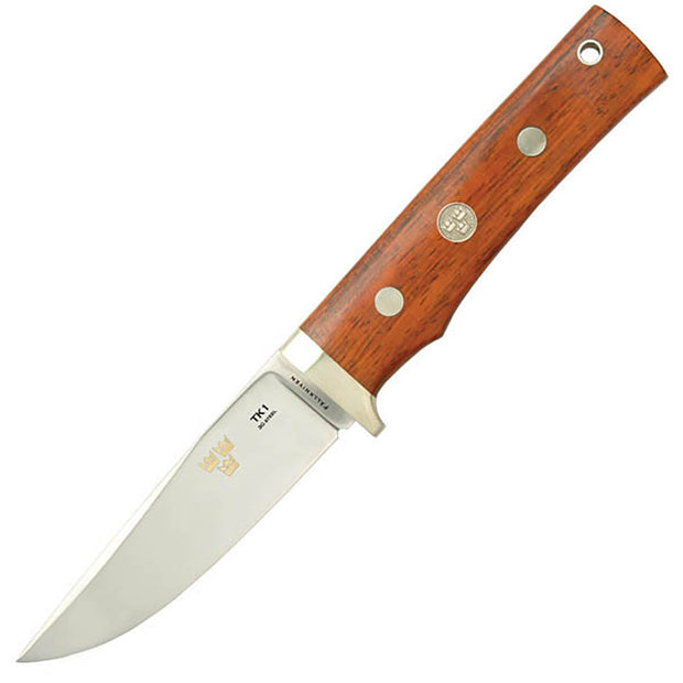 Fallkniven TK1 Fixed Blade 4 in Satin Blade Cocobolo Handle
