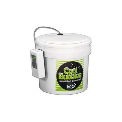 Cool Bubbles Air Pump  11Qt Insulated Pail