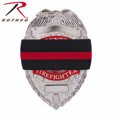 Rothco Thin Red Line Mourning Band