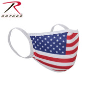 Rothco US Flag Reusable 3 Layer Facemask