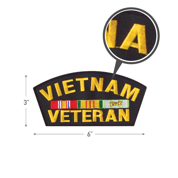Rothco Vietnam Veteran Patch 6''