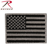 Rothco Mini US Flag Patch With Hook Back