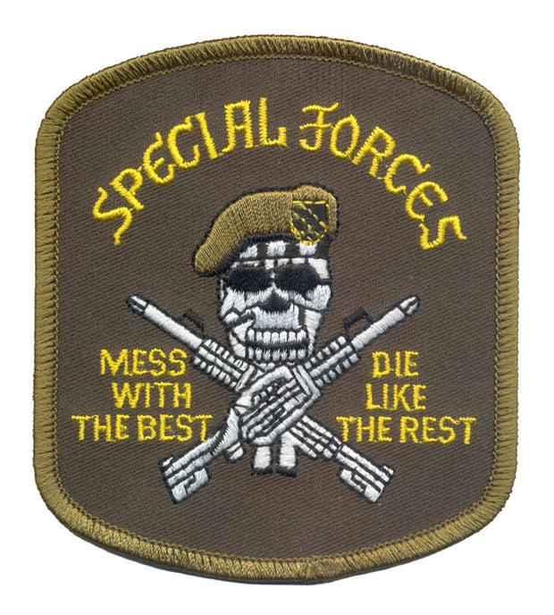 Rothco Special Forces Mess wtih the Best Patch
