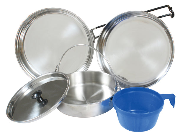 Rothco 5 Piece Stainless Steel Mess Kit