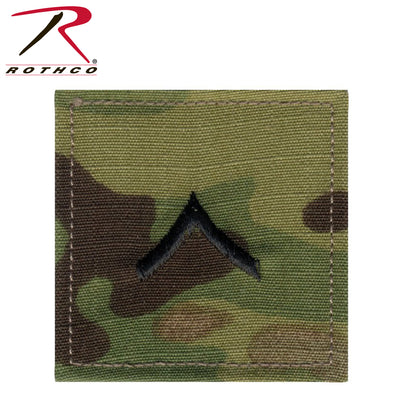 Rothco Official U.S. Made Embroidered Rank Insignia - Private
