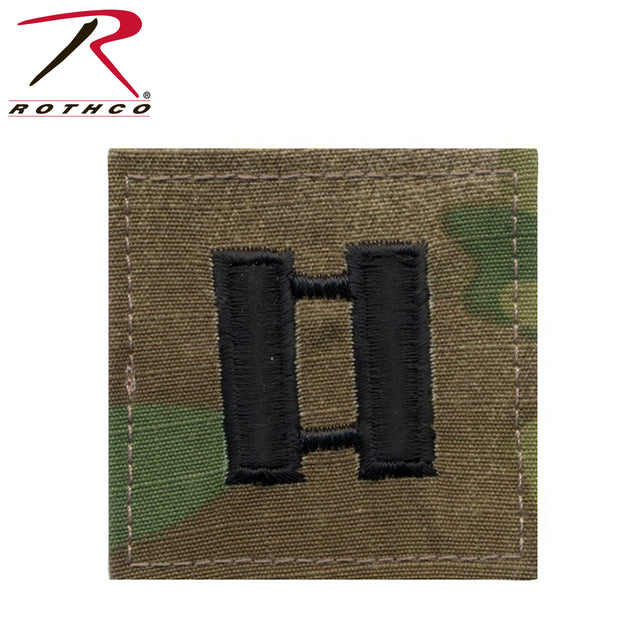 Rothco Official U.S. Made Embroidered Rank Insignia - Captain Insignia