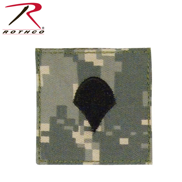 Rothco Official U.S. Made Embroidered Rank Insignia Spec-4