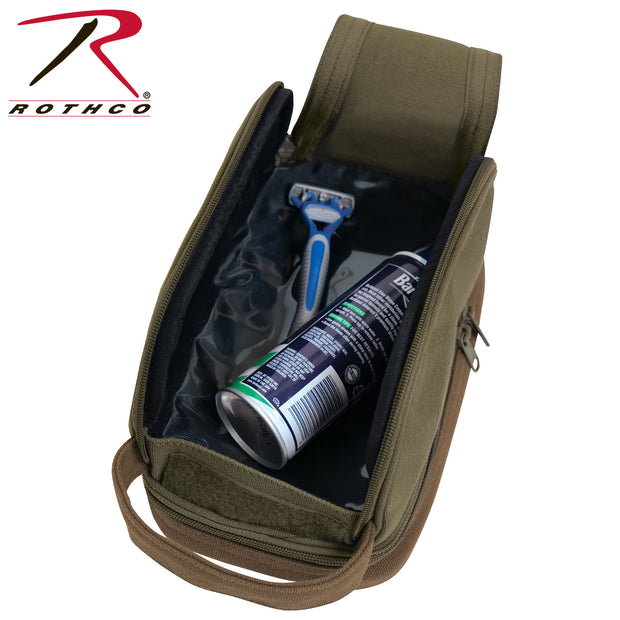 Rothco Deluxe Canvas Travel Kit