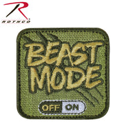 Rothco Beast Mode Patch With Hook Back