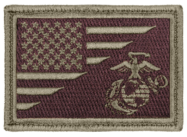 Rothco US Flag / USMC Eagle, Globe and Anchor Morale Patch