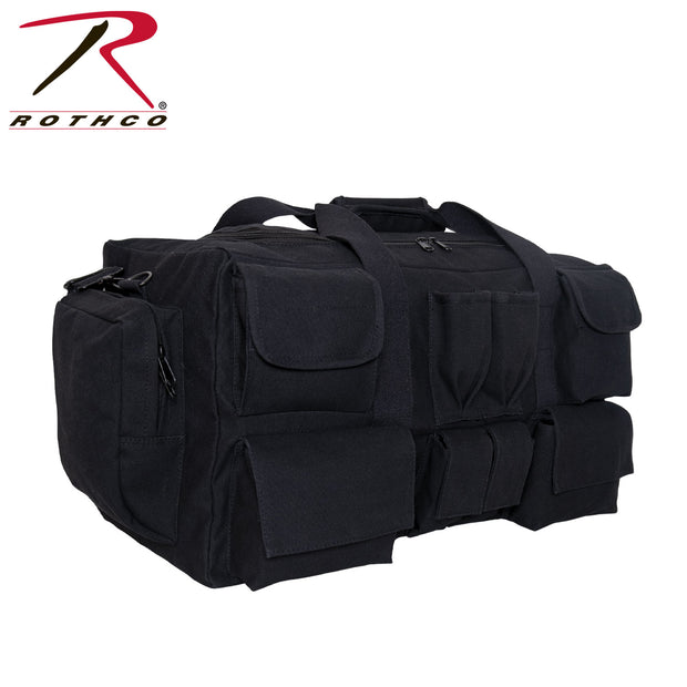 Rothco Canvas Pocketed Military Gear Bag