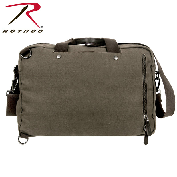 Rothco Canvas Briefcase Backpack