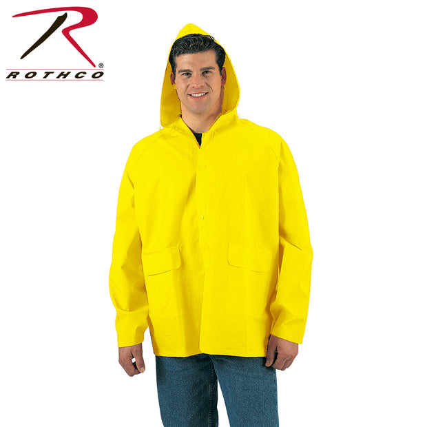 Rothco Yellow Rain Jacket