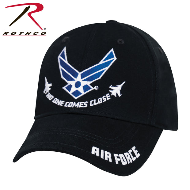 "Rothco Air Force ""No One Comes Close"" Low Profile Cap - Black"