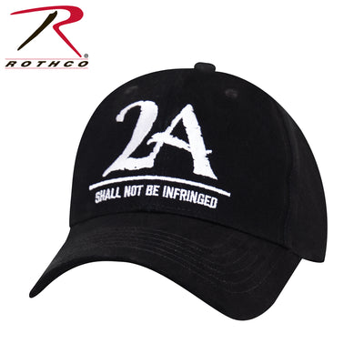 "Rothco 2A ""Shall Not Be Infringed"" Low Profile Cap - Black"
