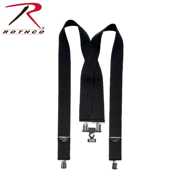 Rothco Adjustable Elastic X-Back Pant Suspenders