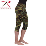 Rothco Womens Camo Workout Performance Capris