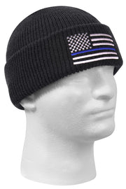 Rothco Thin Blue Line Deluxe Embroidered Watch Cap