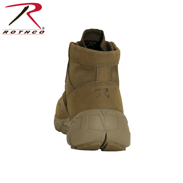 "Rothco 6"" V-Max Lightweight Tactical Boot - AR 670-1 Coyote Brown"