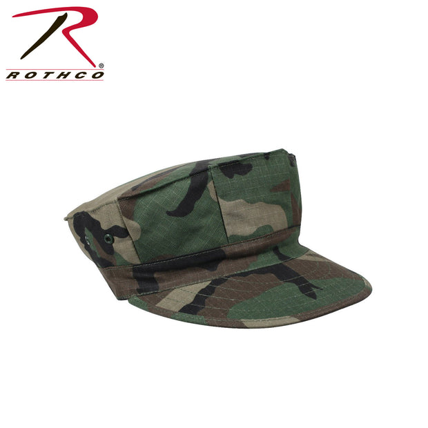 Rothco Marine Corps Cotton Rip-Stop Cap without Emblem