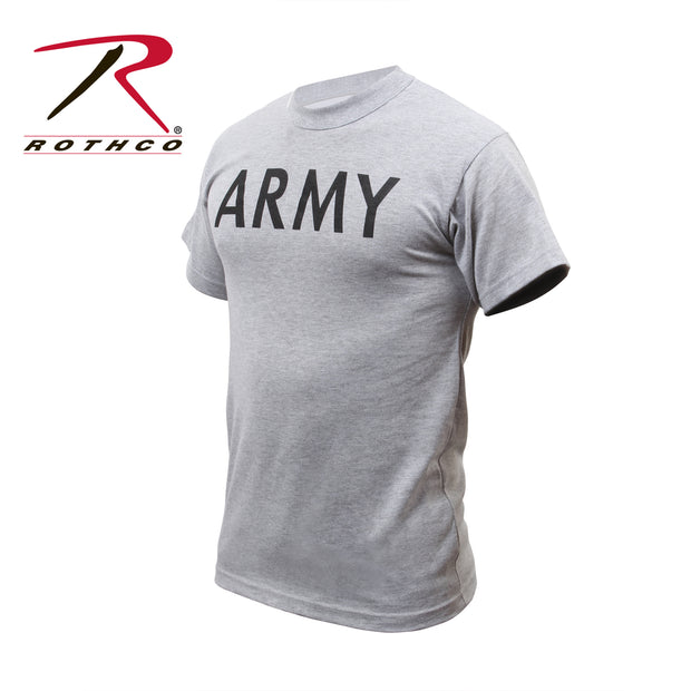 Rothco Grey Physical Training T-Shirt